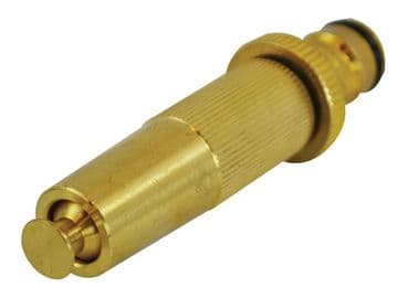 Brass Adjustable Spray Nozzle 12.5mm (1/2in)